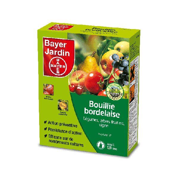 Bouillie bordelaise bayer jardin jean paul le jardinier for Bayer jardin produits insecticides